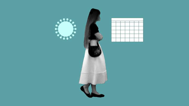Can COVID-19 vaccines affect my period? (AP Illustration/Peter Hamlin)