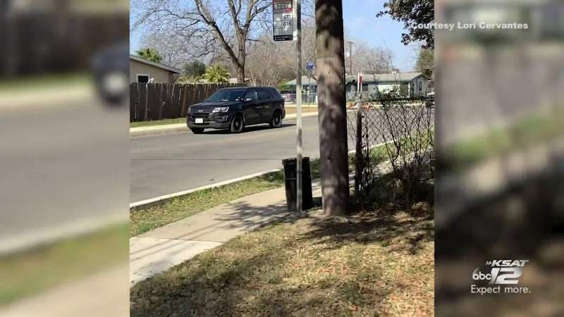 Viewer video of police chase that ended near Jerry D. Allen elementary school