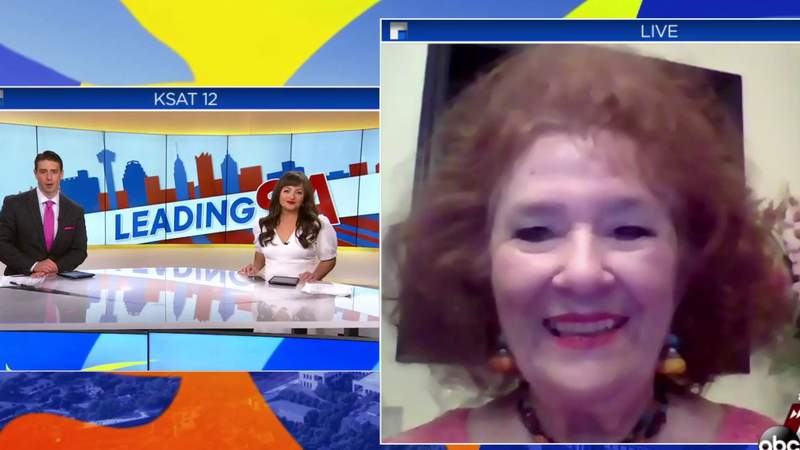 Dr. Katz, with the San Antonio Women's Chamber of Commerce, joins Leading SA