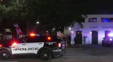 Detectives said a man pulled out a gun and started shooting inside a Midtown club, then a sheriff's deputy fired back, possibly killing the suspect.