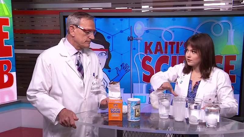 KSAT Kids Home Science: Salt water density
