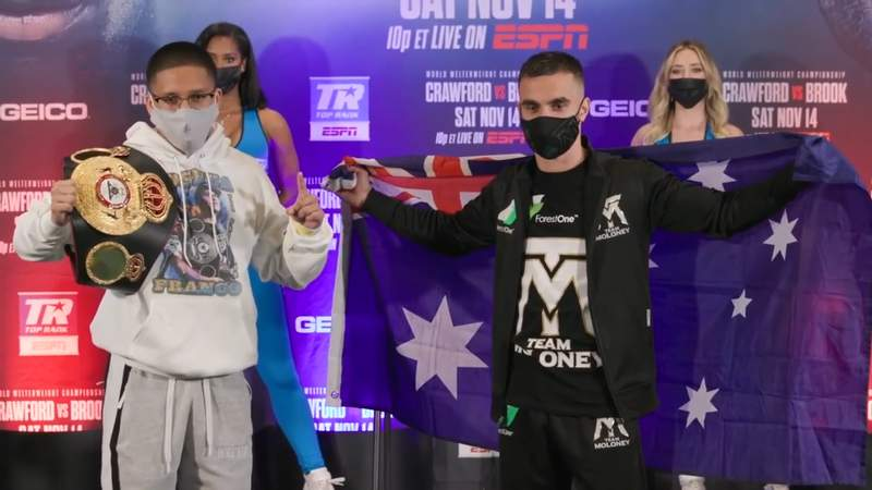 Joshua Franco and Andrew Moloney face each other for the first time since Franco took Moloney's title belt back in June of 2020.
