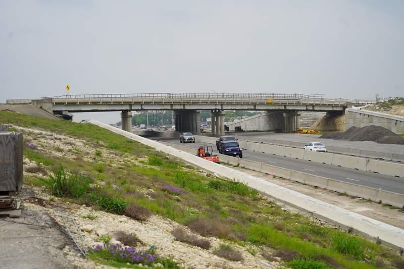 The U.S. Highway 87 (Main Street) bridge over Interstate 10 is set to be demolished.