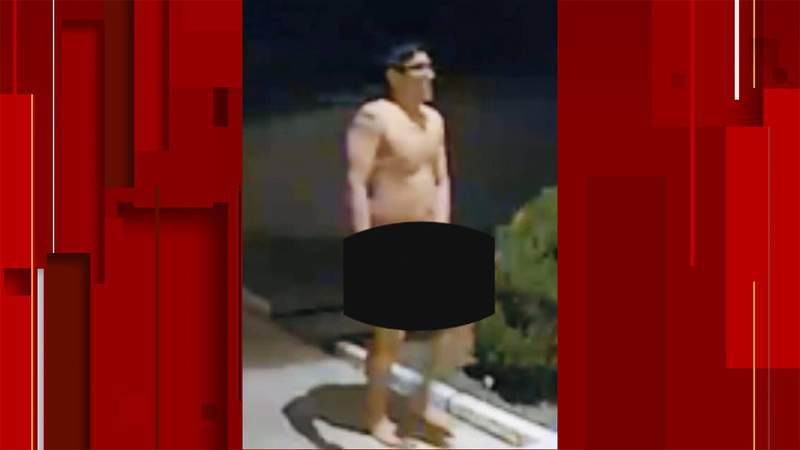 Bexar County sheriff's deputies are looking for a man seen walking naked around the Timberwood neighborhood.