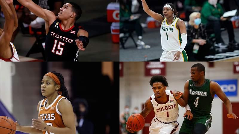 (Former San Antonio players in 2021 NCAA tournaments.)