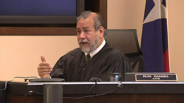 Judge Ron Rangel is presiding over the murder trial of Otis McKane, who is charged with killing San Antonio Police Detective Benjamin Marconi in November 2016. The trial is expected to last about two weeks.