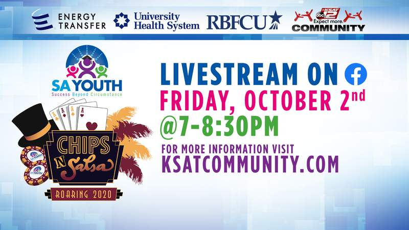 Watch SA Youth's virtual gala on Oct. 2