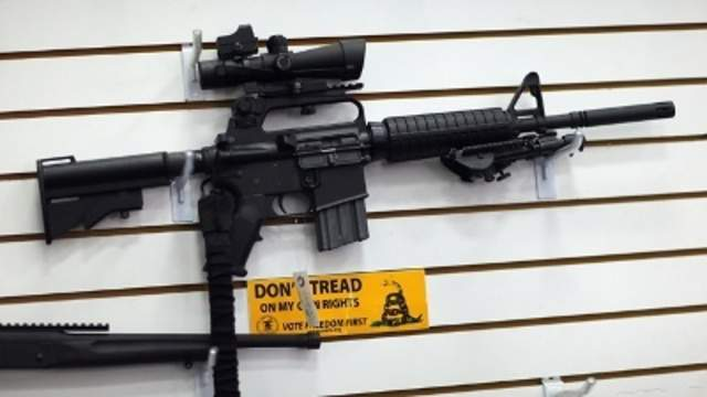 A file image of an AR-15