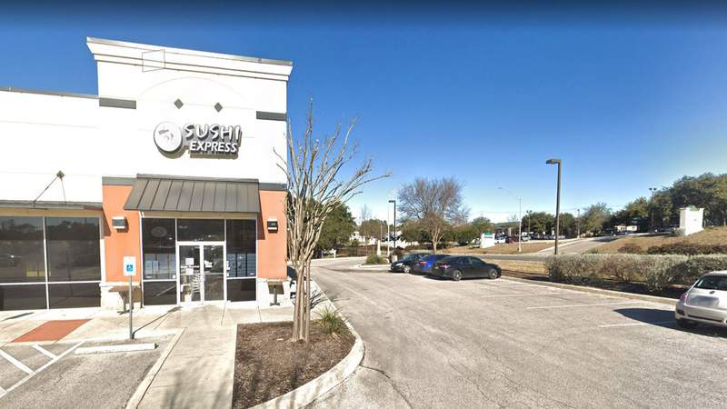 Sushi Express in the 19900 block of Stone Oak Parkway was given a score of 84 after racking up a list of violations that also included a scoop being submerged in a soy sauce bucket. Courtesy: Google Maps