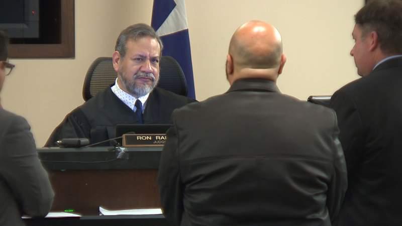 379th District Court Judge Ron Rangel.
