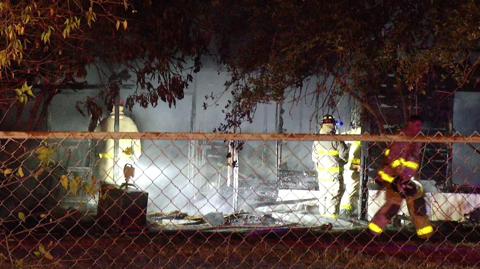 Massive Flames Engulf Abandoned Home On South Side