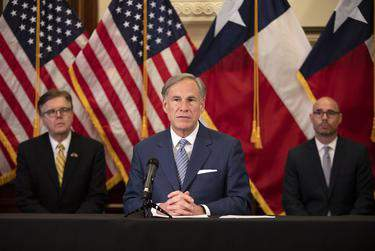 At least five county Republican parties have voted to censure Gov. Greg Abbott as a response to the governor's use of executive power.      Miguel Gutierrez Jr./The Texas Tribune