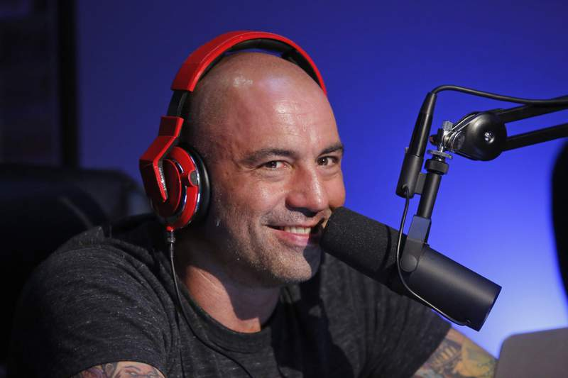Pictured: Joe Rogan (Photo by: Vivian Zink/Syfy/NBCU Photo Bank/NBCUniversal via Getty Images)