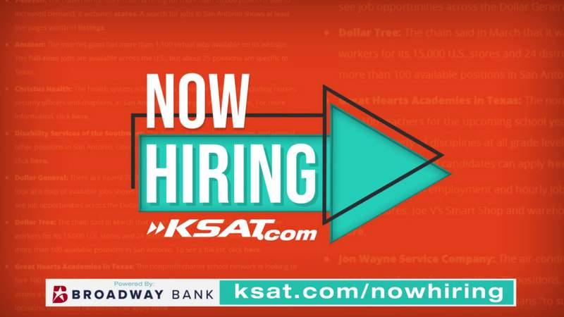 "Need a job? Check out KSAT12's ""Now Hiring"" section on ksat.com"