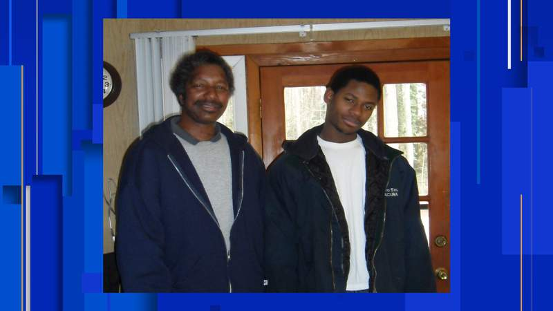 Pictured is Kenneth Harris (left), 66, who was last seen in a Walmart store on the Northwest Side, police say.