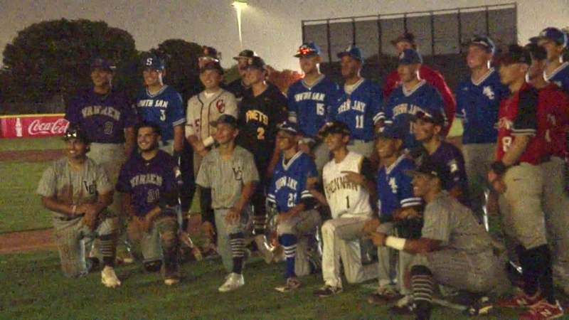 Seniors bid farewell to high school careers with All-Star doubleheader at Wolff Stadium