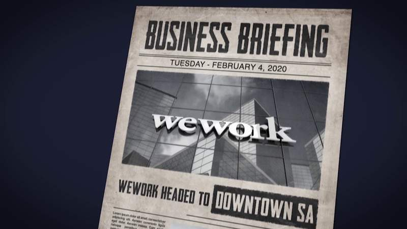 News @ 9 Business Briefing: WeWork set to open office in downtown SA