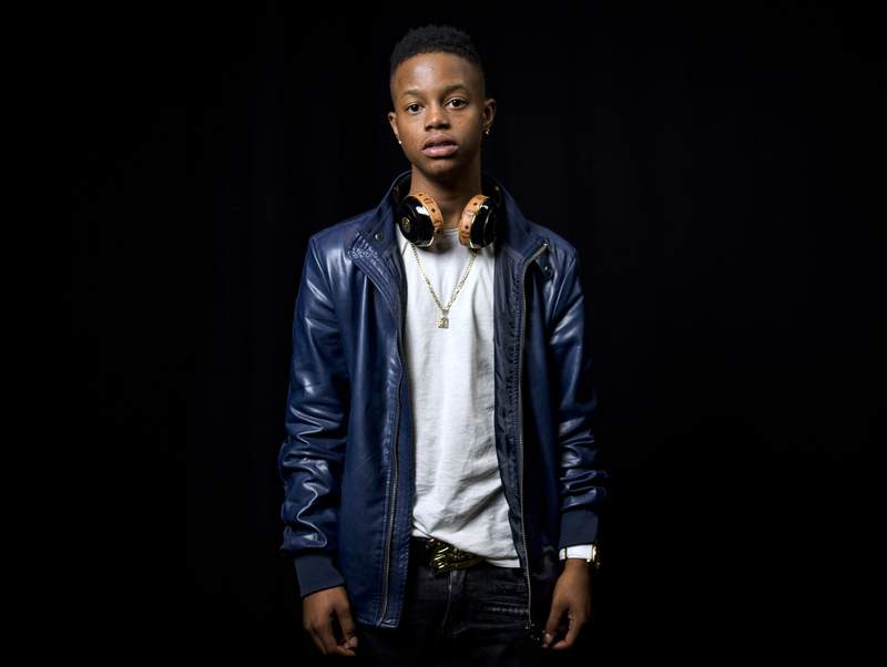 """FILE - In this July 21, 2015, file photo, rapper Silento poses for a portrait in New York. Silento, known for Watch Me (Whip/Nae Nae)"""" and whose legal name is Richard Lamar Hawk, was charged Friday, Oct. 23, 2020 with driving 143 mph on an Atlanta interstate. The rapper faces several charges, including reckless driving and speeding. (Photo by Drew Gurian/Invision/AP, File)"""
