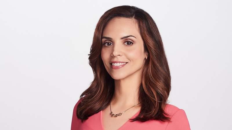 New KSAT anchor Stephania Jimenez