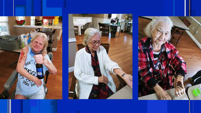 Residents of Wesley House in Hillsboro, Tx. Images courtesy of Wesley House.