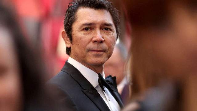 HOLLYWOOD, CA - MARCH 04: Lou Diamond Phillips attends the 90th Annual Academy Awards at Hollywood