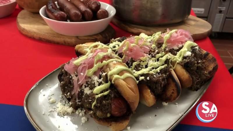 Recipes: Barbacoa chili cheese dogs + marinated watermelon salad l SA Live l KSAT 12