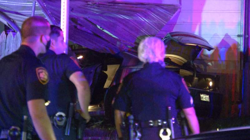 Pair avoid serious injury after crashing into NW Side home, police say