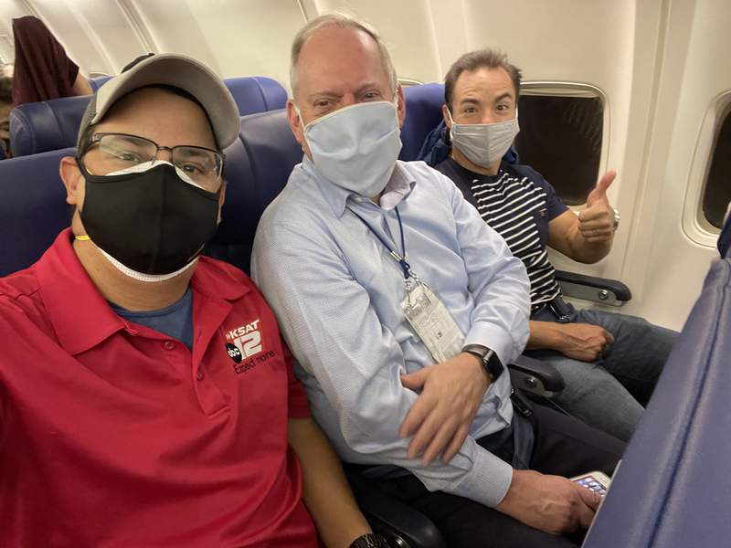 """""""Headed to California for Cowboys training camp with Billy and Mike. It's way too early!"""" -@GregSimmonsKSAT"""