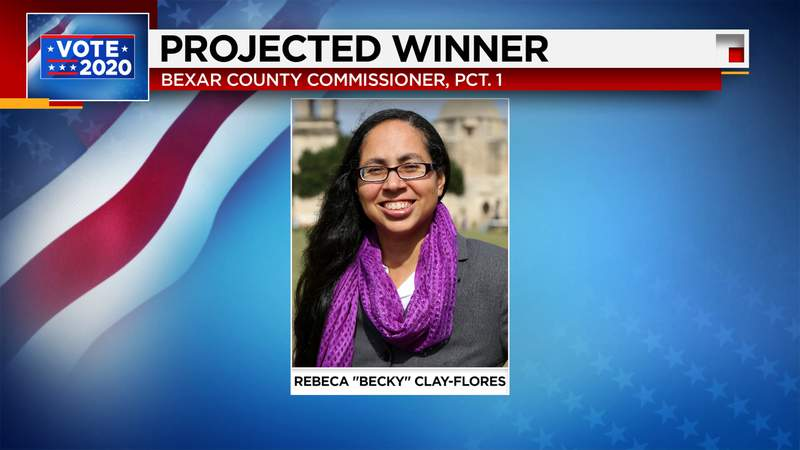 """Election results 2020: Rebeca """"Becky"""" Clay-Flores elected to Bexar County Commissioner, Precinct 1"""
