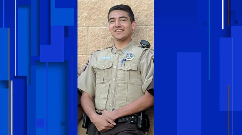 Lavaca County Sheriff's Deputy Dakota Moreno died Dec. 22, 2020 after being involved in a motorcycle crash.