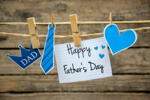 Happy Father's Day greeting card or background.
