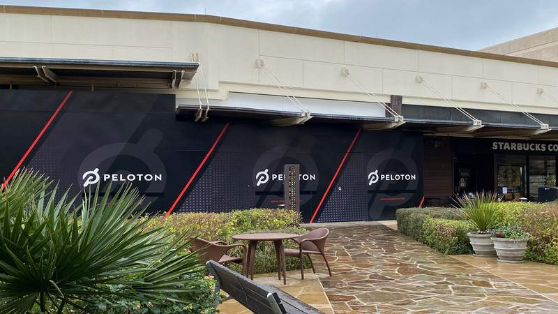 A Peloton Showroom is slated to open at the Shops at La Cantera.