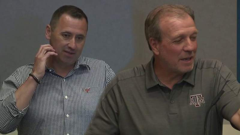 Longhorns' Sarkisian, Aggies' Fisher attend annual THSCA convention in San Antonio