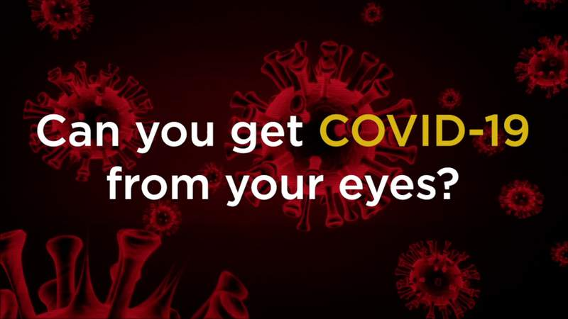 SAQ: Can you get COVID-19 from your eyes?