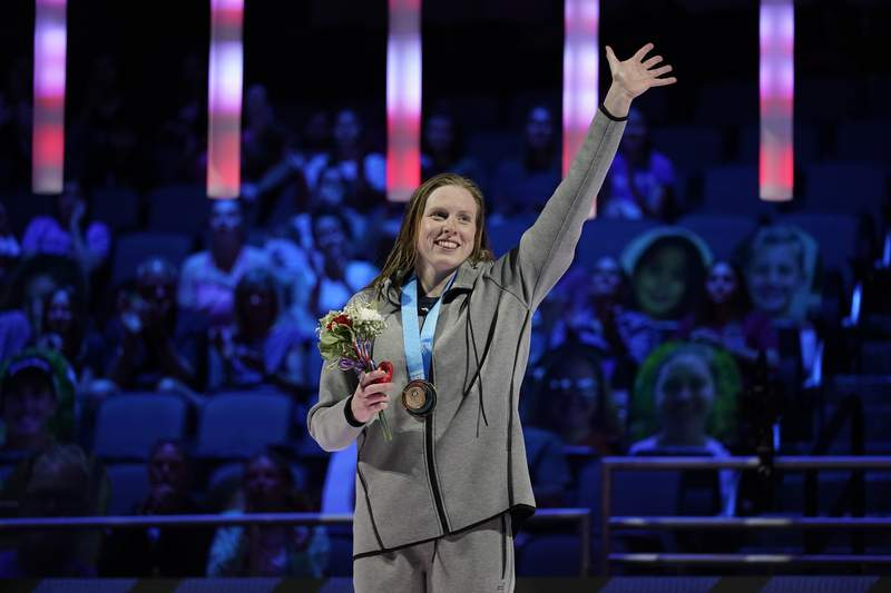 The Lilly King Show: Swimmer bringing brash talk to Tokyo - KSAT San Antonio