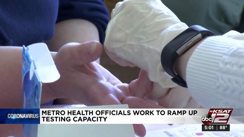 Metro Health officials work to ramp up testing capacity