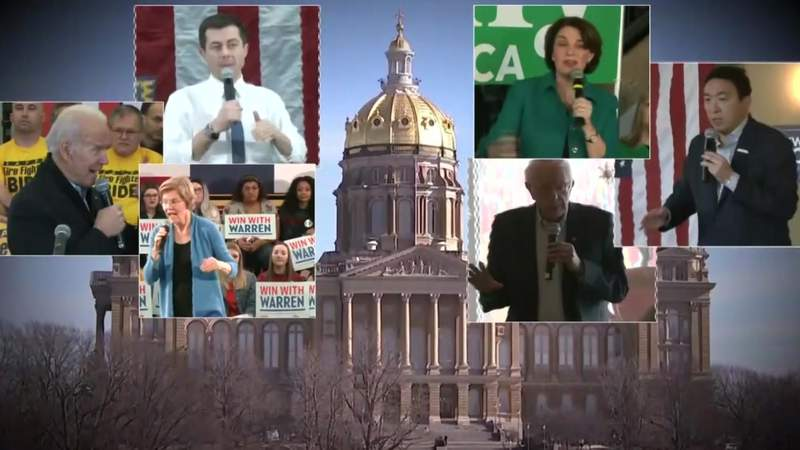 2020 candidates rev up Iowa foot soldiers ahead of caucuses