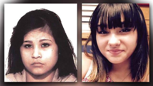 From left to right: Gabby Reyna, 16, and Seriah Ravae Hunt, 17.