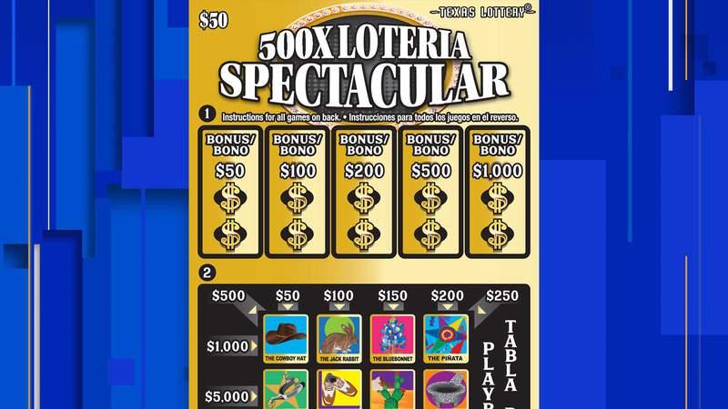 500X Loteria Spectacular