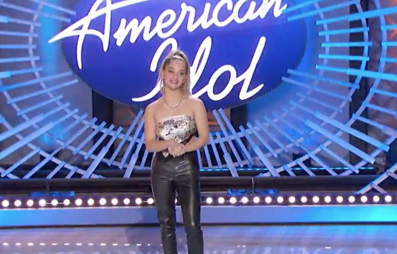 Claudia Conway wants to become the next American Idol.