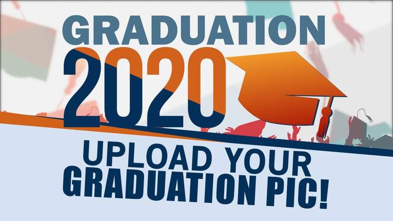 Graduation 2020 upload your picture image