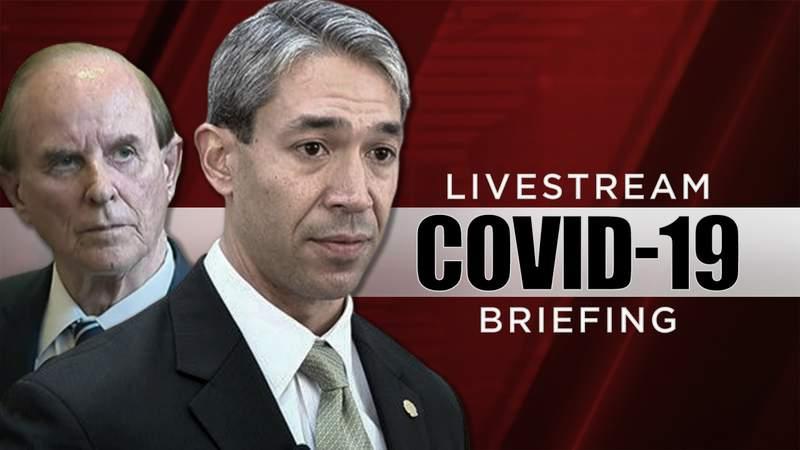 San Antonio Mayor Ron Nirenberg and Bexar County Judge Nelson Wolff provide daily updates at 6:10 p.m. on KSAT.com.