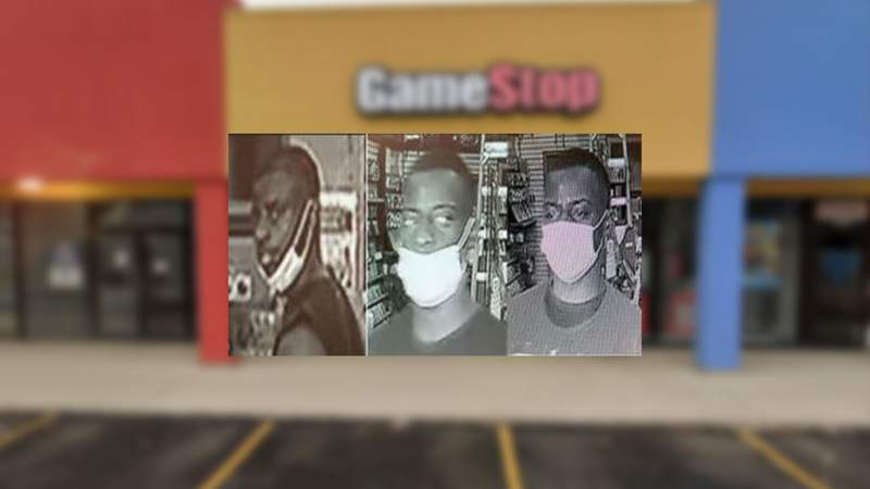 GameStop aggravated robbery suspect.