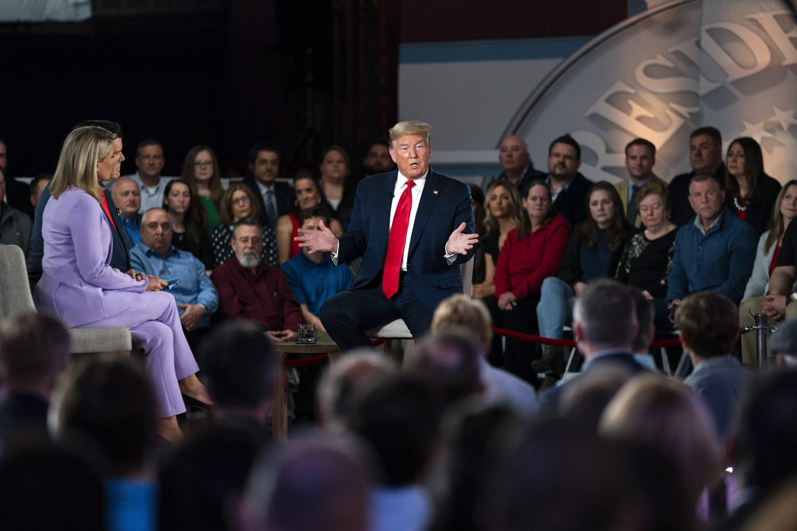 Halloween Events 2020 Scranton Pa Trump defends his rhetoric in 1st TV town hall of 2020