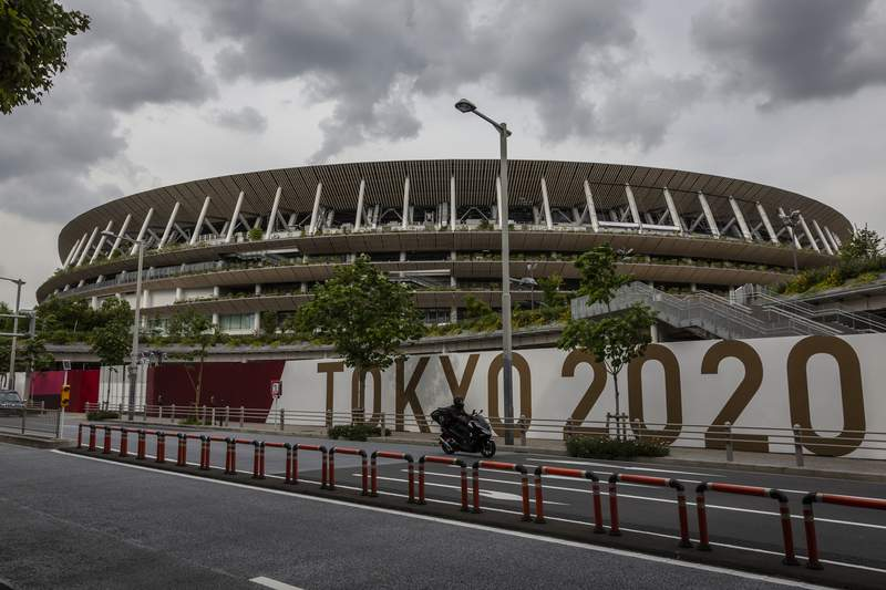 Tokyo's Olympic Stadium will be the site of the opening ceremonies on July 23.