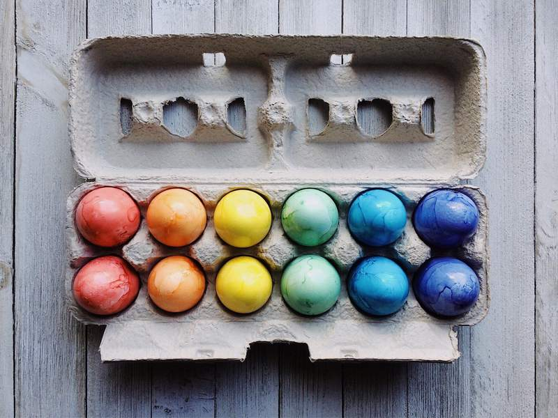 Get creative with your Easter eggs!