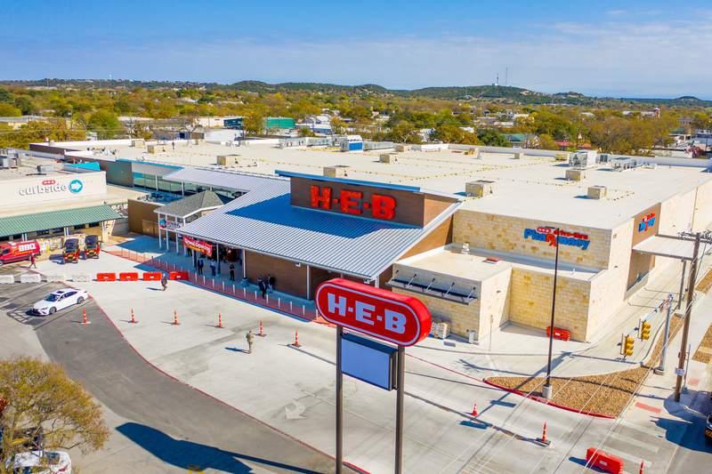 New H-E-B in Kerrville