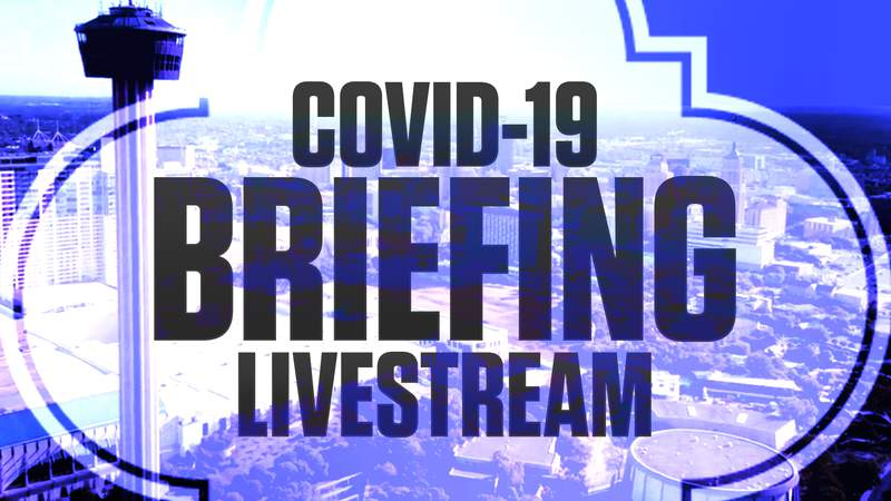WATCH LIVE: San Antonio-Bexar County COVID-19 Briefing