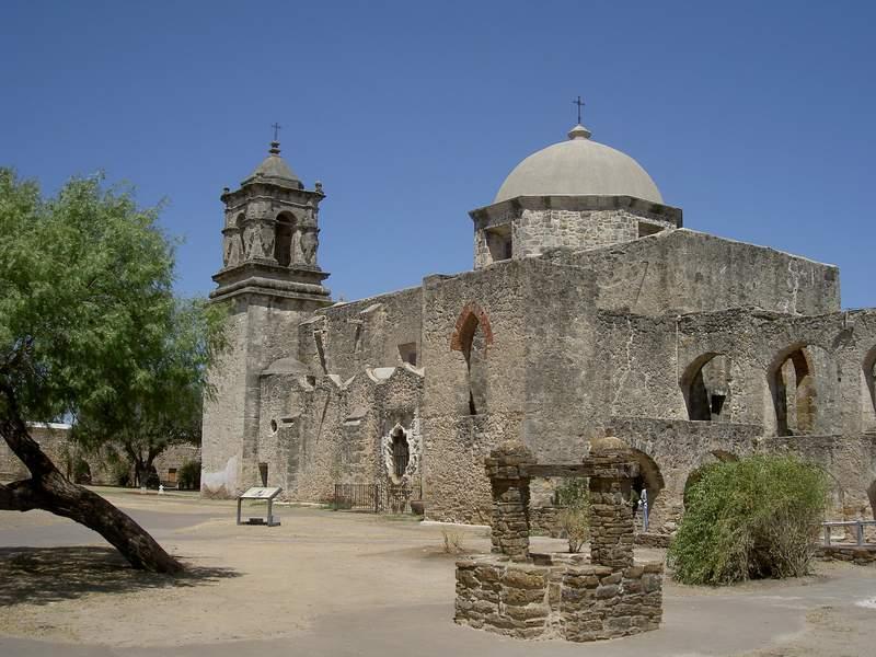 Mission San Jose, a part of Hispanic heritage in San Antonio.