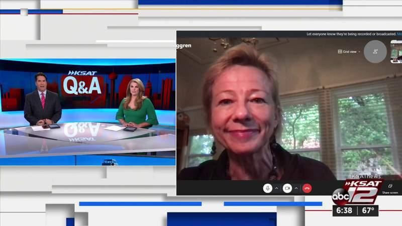 KSAT Q&A: Dr. Ruth Berggren talks vaccinations at Fiesta
